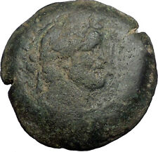 ANTONINUS PIUS on HORSE 157AD Alexandria Egypt Drachm Ancient Roman Coin i56352