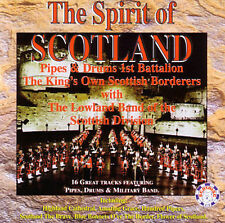 Spirit Of Scotland, The by The Lowland Band (CD, Jun-1997, Scotdisc) (cd6726)