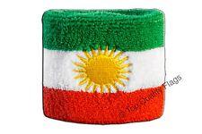 WRISTBAND Kurdistan Flag SWEATBAND 7x8cm
