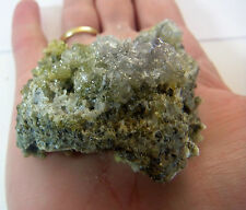RARE GREEN ZINCITE LARGE  NATURAL CRYSTAL from POLAND 144g 60mm ST12