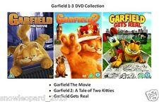 GARFIELD TRILOGY DVD PART 1 2 3 Brand New and Sealed UK Release Movie Film