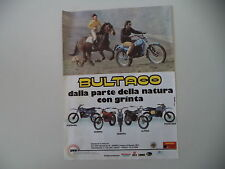 advertising Pubblicità 1979 MOTO BULTACO PURSANG/SHERPA/FRONTERA/ALPINA