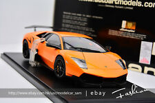 AUTOart 1:18 lamborghini bat LP670-4 SV orange