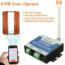 GSM Gate Opener Wireless Door Access Free Call Remote Control By Phone RTU5024