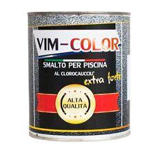 Smalto per piscine PVC, colori(BIANCO, AVORIO, AZZURRO, CELESTE, RAL)KG.2(14 MQ)