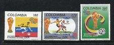 Colombia 1097-1099, MNH, World Cup Soccer Champinship. 1994. x23404