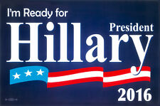 HILLARY CLINTON DEMOCRATS 2016 PRESIDENTIAL CANDIDATE POSTER SIGN
