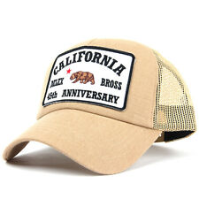 California Delex Bross Patch Mesh Trucker Cap Baseball Hat Snapback