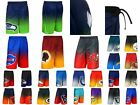 NFL Football Men's Gradient Polyester Shorts by KLEW - Pick Your Team!