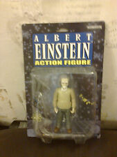 ALBERT EINSTEIN ACTION FIGURE 5 INCH ACTION FIGURE ACCOUTREMENTS NEW IN PACKET