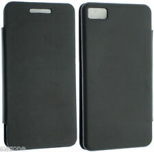 FOR BLACKBERRY Z10 BATTERY BACK LEATHER CASE COVER SLIM POUCH + SCREEN PROTECTOR