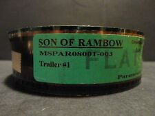 SON OF RAMBOW 2007 35mm Trailer #1 film collectible cells FLAT  2 min 30 sec.