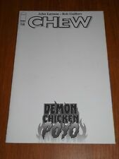 CHEW DEMON CHICKEN POYO #1 IMAGE COMICS BLANK VARIANT NM (9.4)