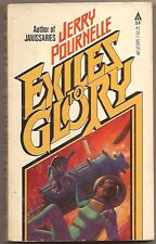JERRY POURNELLE Exiles to Glory. Boris Vallejo cover.