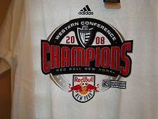 Red Bull New York 2008 Western Conference Champions Adidas New w/tags Small