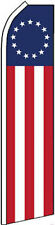 """BETSY ROSS"" super flag swooper banner advertising sign flutter"