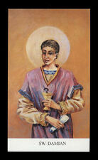 santino-holy card*S.DAMIANO M. IN CILICIA