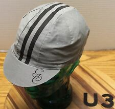 GOURMET CENTURY GRAY CYCLING HAT OSFM IN VERY GOOD CONDITION