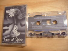 RARE PROMO Mortal Sin CASSETTE TAPE Face of Despair METAL Australia 1989 Vertigo