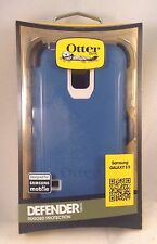 NEW!! OEM OtterBox Defender Series Case for Samsung GALAXY S5 - Blue / White