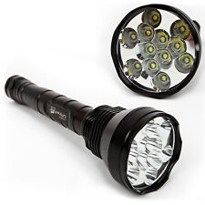 UltraFire 12x T6 LED 13800LM Profi Monster Taschenlampe Flashlight Torch 1A