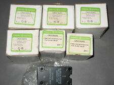 General Electric GE CR215GR1 Single Pole For Plug-In Limit Switch  Lot of 6