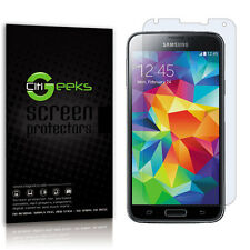 CitiGeeks® Samsung Galaxy S5 Screen Protector Crystal Clear HD Film [10-Pack]