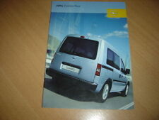 CATALOGUE Opel Combo Tour de 2005