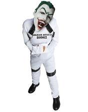 """Joker Kids Straight Jacket DC Supervillian Costume,M,Age 5-7,HEIGHT 4' 2""""-4' 6"""""""
