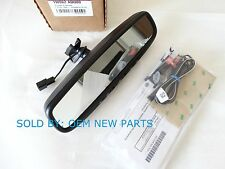 2012-2015 Kia Rio Rio5 Auto Dimming Rear View Mirror w/ Homelink & Compass OEM