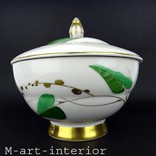 Arzberg Art Déco Bonboniere, Deckeldose, Keksdose, Dekor Fritz von Stockmeyer