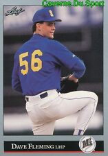 494   DAVE FLEMING    SEATTLE MARINERS  BASEBALL CARD LEAF 1992