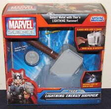 Marvel Science Uncle Milton Thor's Lightning Energy Hammer NIB Avengers Thor