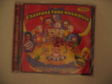 FRENCH SONGS CD CHANTONS TOUS ENSEMBLE MUSIC CHILDREN KIDS BABY LEARNING LYRICS