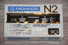 PIONEER  N2   90   BLANK CASSETTE  TAPE  (1)     (SEALED)