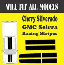 Gmc Seirra Chevy Silverado Racing Stripes Vinyl Decal Sticker Truck All Models
