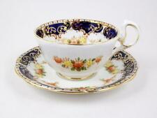 Vintage Royal Standard Tea Cup Imari Pattern Fine Bone China Cobalt Border 6 oz