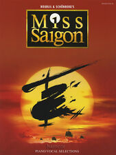 Miss Saigon PIANO VOCAL GUITAR Spartiti Musicali LIBRO