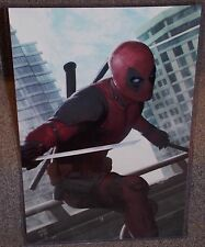 Deadpool Glossy Art Print 11 x 17 In Hard Plastic Sleeve