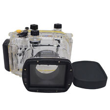 Mcoplus 40m/130ft Underwater Waterproof Housing Camera Case for Canon G11 G12
