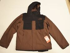 MSRP 329 NWT North Face Hauser Triclimate M Medium Brown Black 3-in-1 550 Down