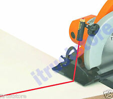 CIRCULAR SAW LASER GUIDE LINE ATTACHMENT