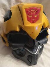Transformers bumblebee electronic voice changer helmut avec sons tête complète