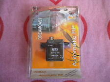 NAKI AUTOMATIC RF SWITCH FOR SEGA DREAMCAST *BRAND NEW* Black