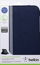 Belkin Stripe Multi Angle Cover Case with Stand for Samsung Galaxy Note 8.0 Blue