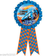 HOT WHEELS Wild Racer GUEST OF HONOR RIBBON ~ Birthday Party Supplies Favors