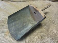 Vintage Metal & Wood Scoop   Antique Old Store Grain Shovel Seed Farm 9588