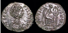 GOOD QUALITY ROMAN COIN, AELIA FLACILLA , wife of Theodosius I, AE4, SCARCE+++