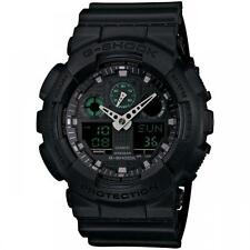 Casio G-Shock GA100MB-1A Brand New Men's X-LARGE Black Military Ana-Digi Watch