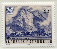 Österreich 1851 Naturschönheiten:(III) Martinswand bei Zirl - 1986 **